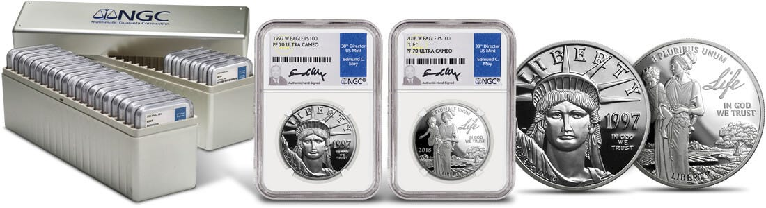 The Platinum American Eagle Proof 70 Date Run