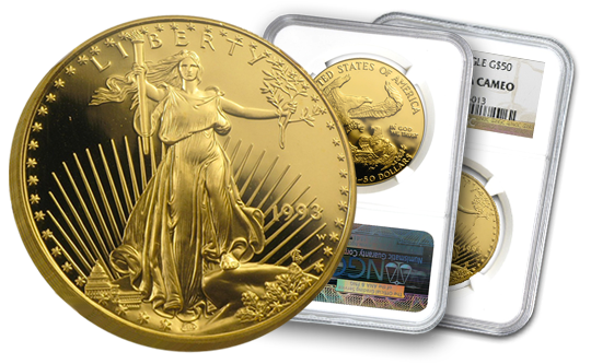 Gold American Eagle Proof 70 Coins