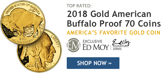2018 Gold American Buffalo Proof 70