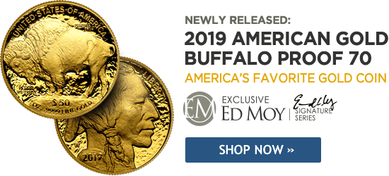 2019 Gold American Buffalo Proof 70