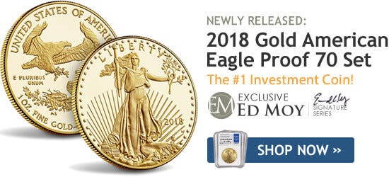 2018 Gold American Eagle Set Proof 70