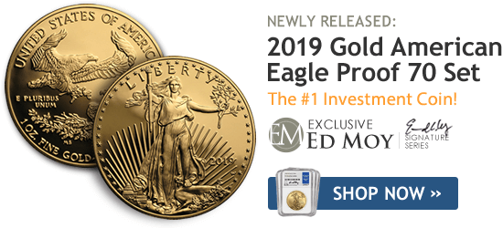 2019 Gold American Eagle Proof 70