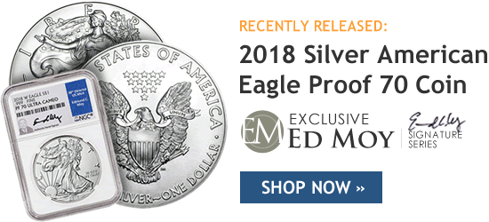 2018 Silver American Eagle Proof 70